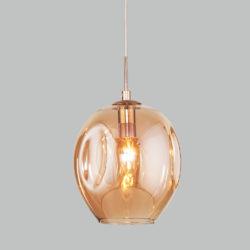 Подвесной светильник со стеклянным плафоном 50195/1 золото