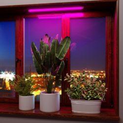 Линейный светильник для растений 9 Вт FT-001