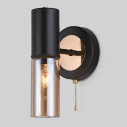 Настенный светильник в стиле лофт 70125/1 черный