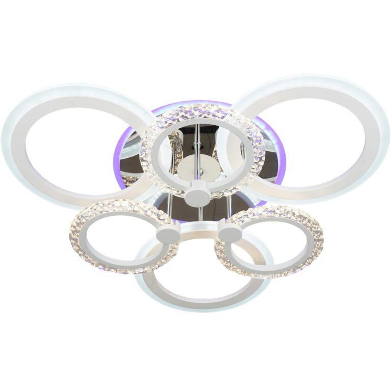 Люстра LED с пультом YF091/3+3
