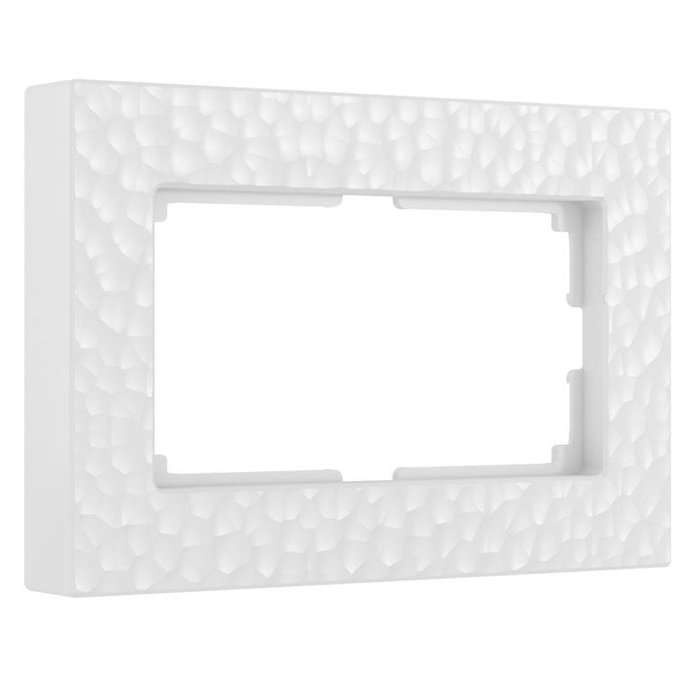 Рамка для двойной розетки (белый) W0082401