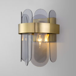 Настенный светильник с тонированным стеклом 332/1
