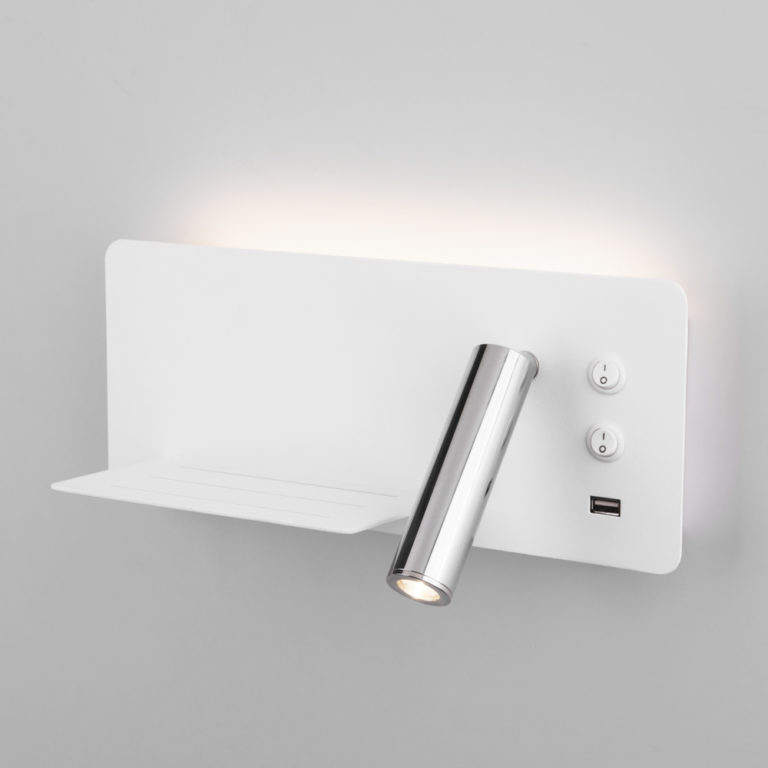 Fant L LED белый/хром настенный светодиодный светильник MRL LED 1113