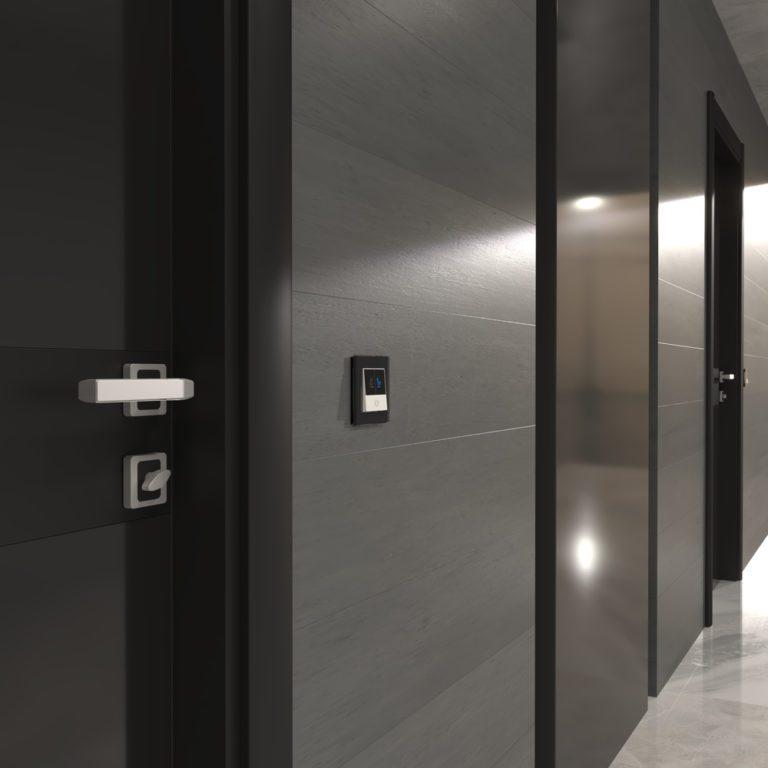 Кнопка звонка с индикацией для отелей (белый) W1114601