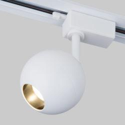 Трековый светодиодный светильник для однофазного шинопровода Ball Белый 12W 4200K LTB77