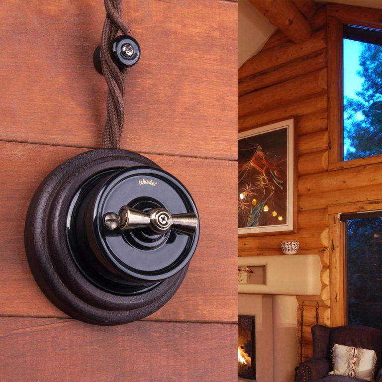 Ретро кабель витой 2х1,5 (коричневый) 50 м W6452514