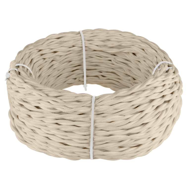 Ретро кабель витой 3х1,5 (песочный) 50 м W6453546