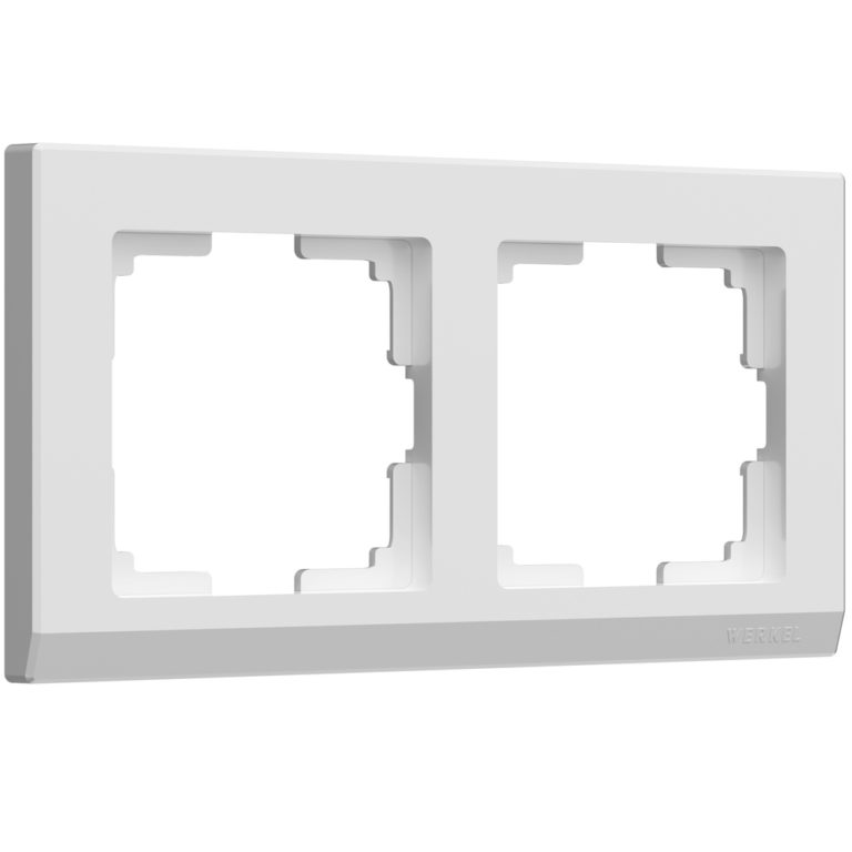 Рамка на 2 поста (белый) W0021801