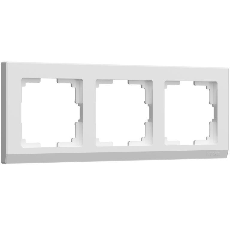 Рамка на 3 поста (белый) W0031801