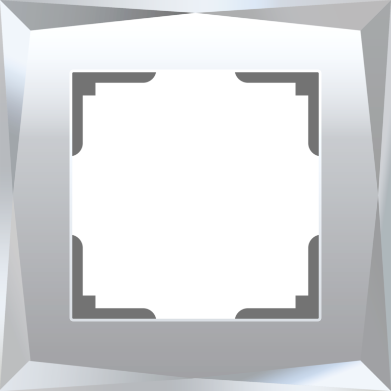 Рамка на 1 пост (зеркальный) W0011220