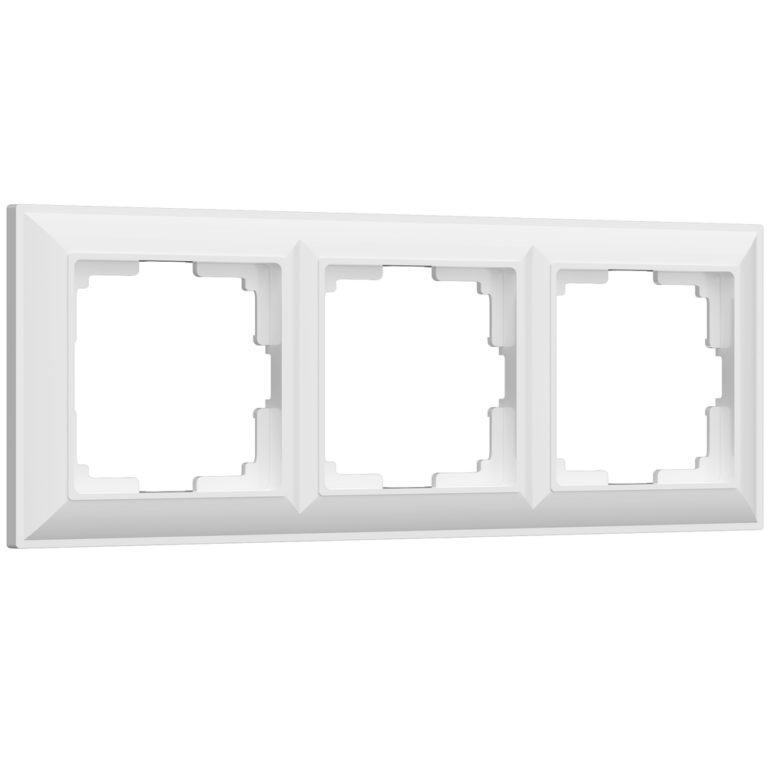 Рамка на 3 поста (белый) W0032201