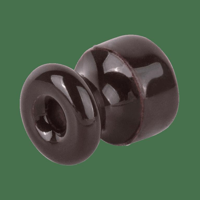 Изолятор без винта 50 шт. (коричневый) Ретро W6431314
