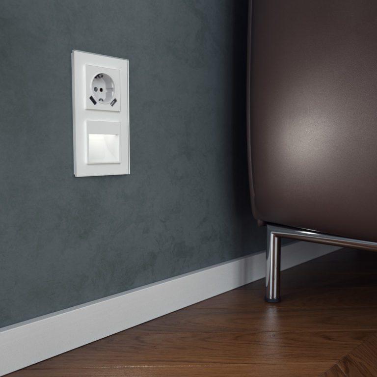 Встраиваемая LED подсветка (белый) W1154101