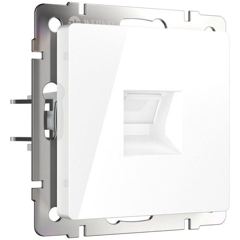 Розетка Ethernet RJ-45 (белая) W1181001