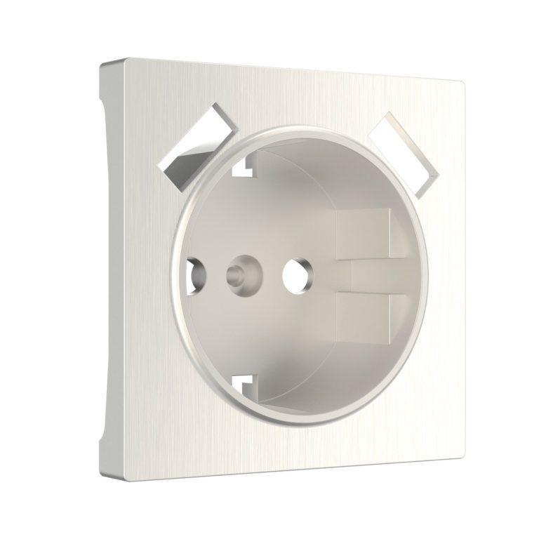 Накладка для USB розетки (перламутровый рифленый) W1179513