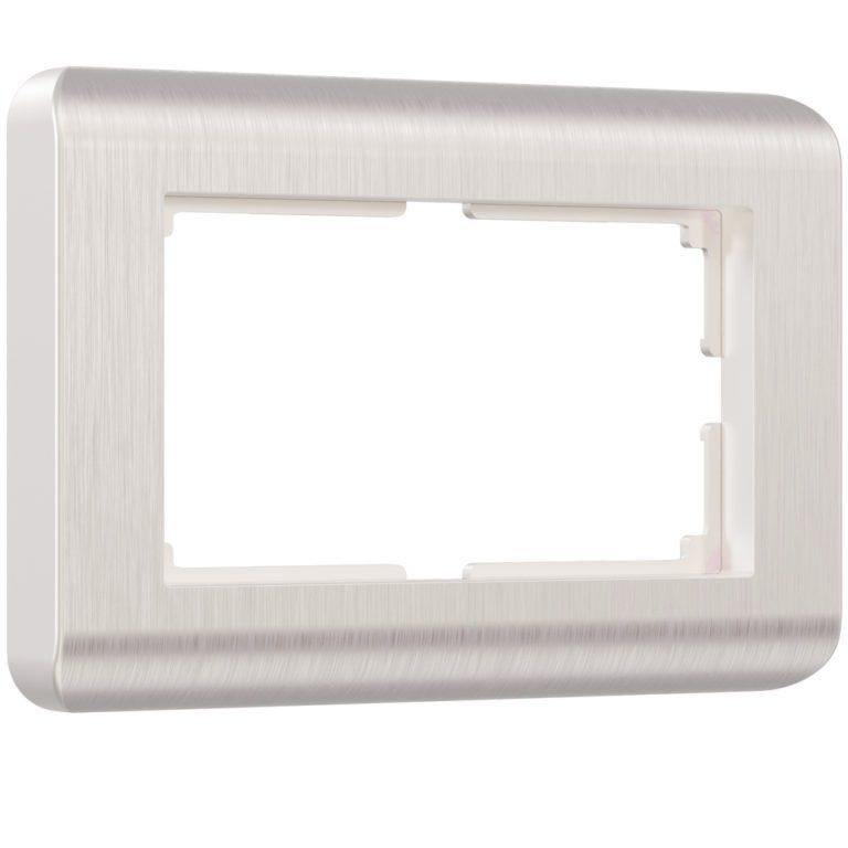 Рамка для двойной розетки (перламутровый) W0082113