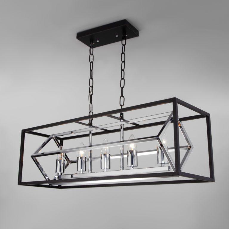 Подвесной светильник в стиле лофт 70122/5 черный