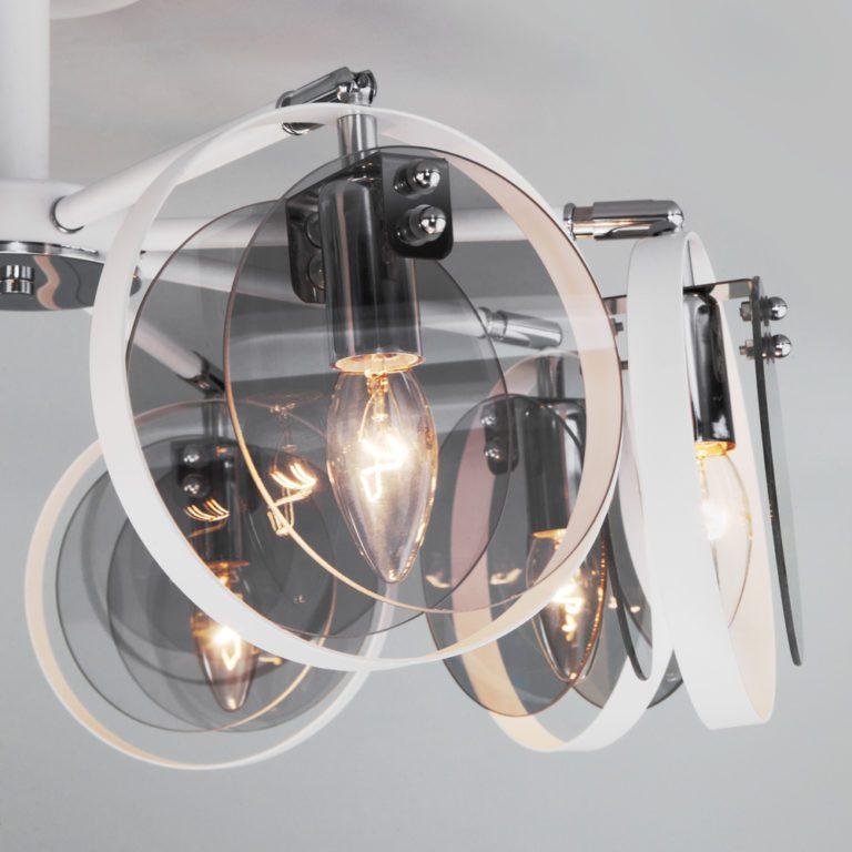 Потолочный светильник в стиле лофт 70121/8 белый