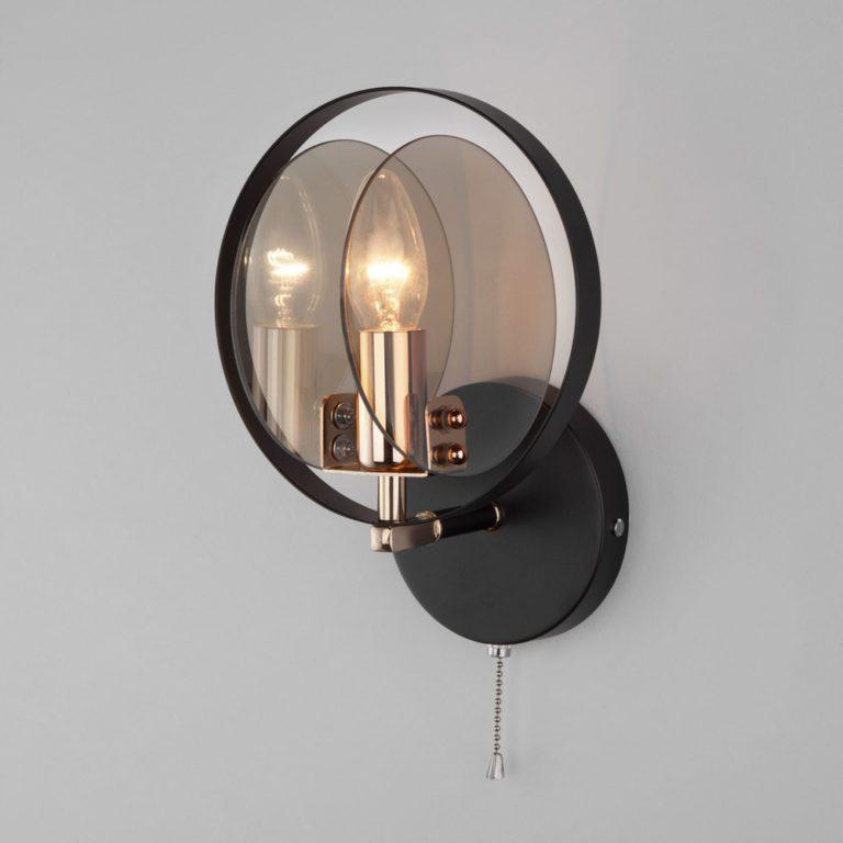 Настенный бра в стиле лофт 70121/1 черный