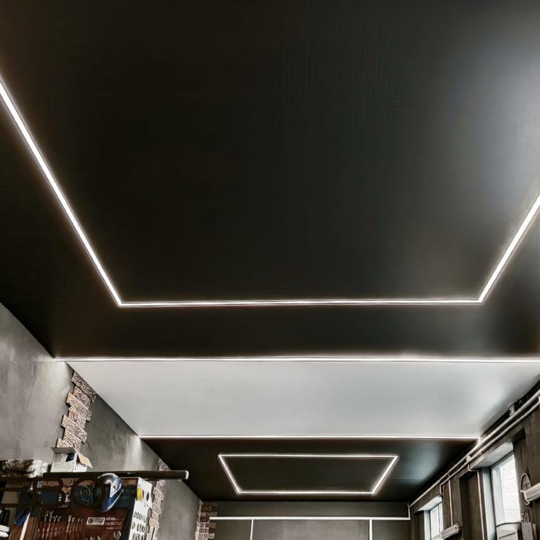 Светодиодная лента Лента светодиодная 24V 14,4W 60Led 5050 IP20 дневной белый, Black, 5м