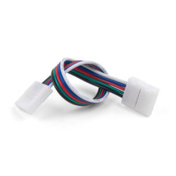 Коннектор для лент 5050+5050 24V 60Led 14,4W IP20 RGBW, 5050 24V 60Led 14,4W IP20 RGBW гибкий двусторонний (10шт) a053704