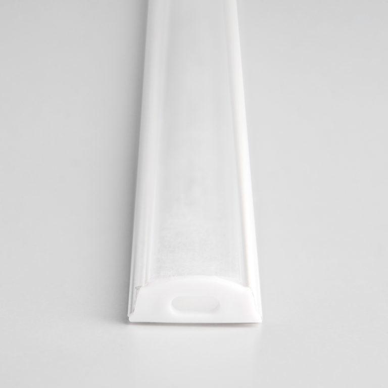 Гибкий алюминиевый профиль белый/белый для светодиодной ленты LL-2-ALP012