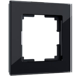 Рамка на 1 пост (черный) W0011108