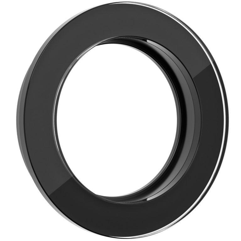 Рамка на 1 пост (Черный) WL21-frame-01