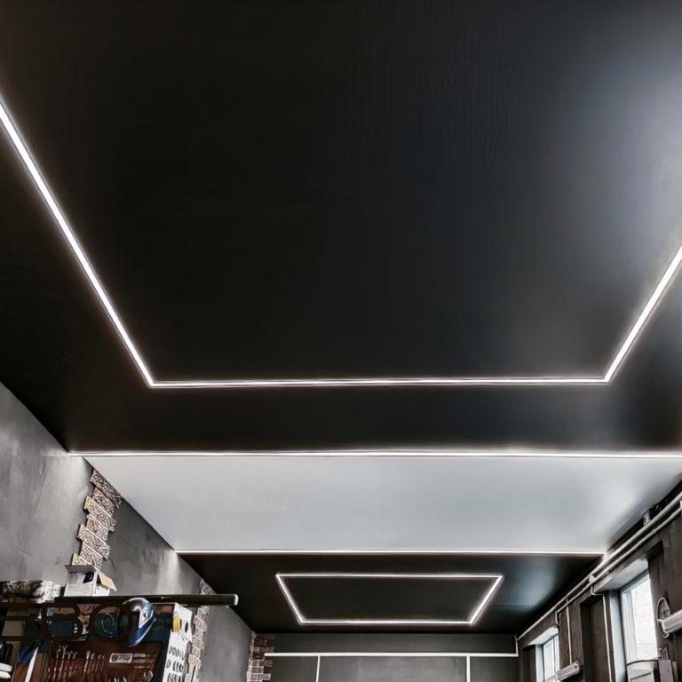 Светодиодная лента Лента светодиодная 24V 14,4W 60Led 5050 IP20 холодный белый, Black, 5м