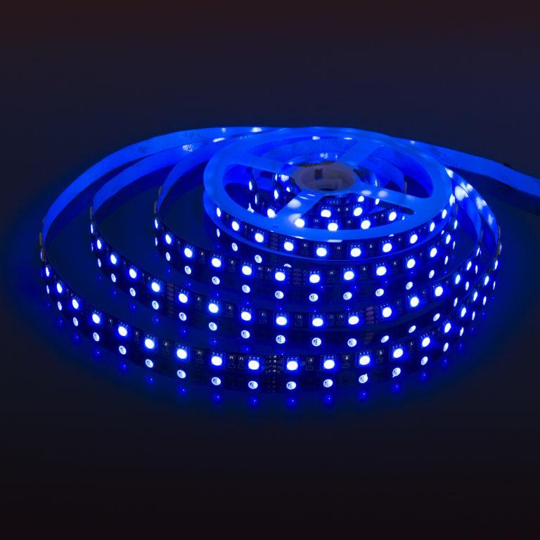 Светодиодная лента Лента светодиодная 24V 14,4W 60Led 5050 IP20 RGB, Black, 5м