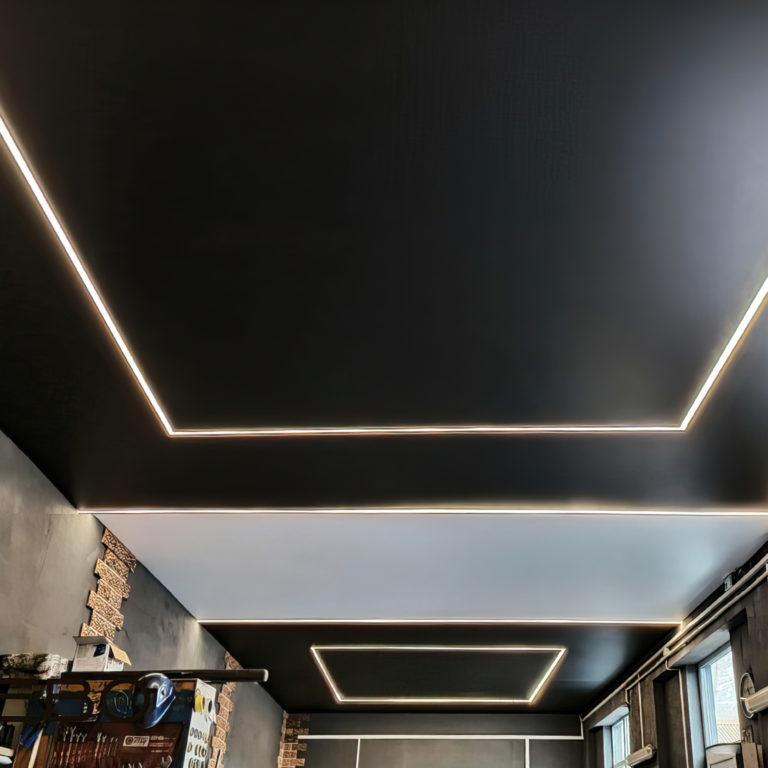 Светодиодная лента Лента светодиодная 24V 14,4W 60Led 5050 IP20 тёплый белый, Black, 5м
