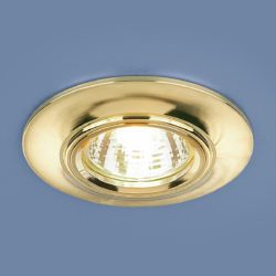 Точечный светильник 7007 MR16 GD золото
