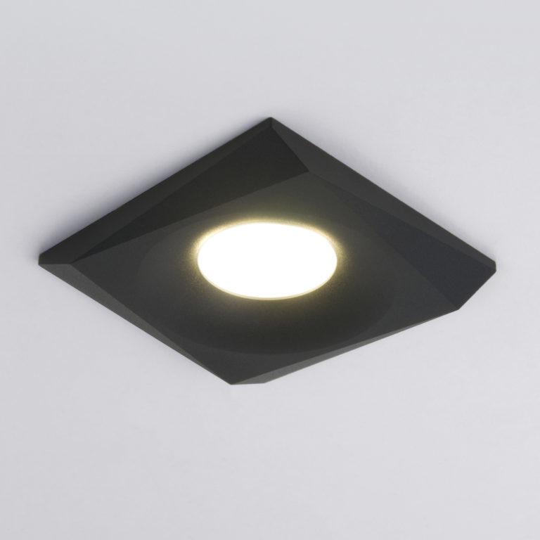 Встраиваемый точечный светильник 119 MR16 черный
