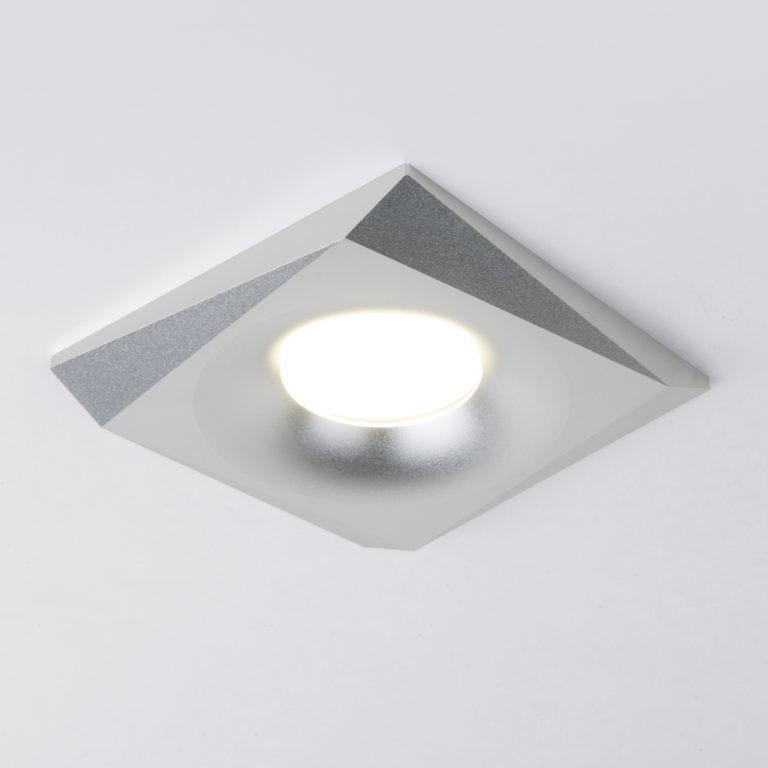Встраиваемый точечный светильник 119 MR16 серебро