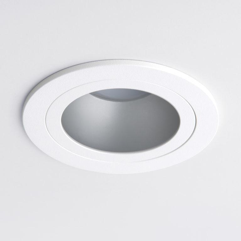 Встраиваемый точечный светильник 122 MR16 серебро/белый