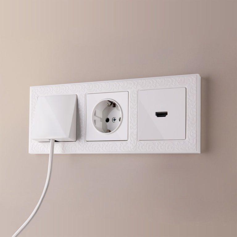 Вывод кабеля (белый) W1150201