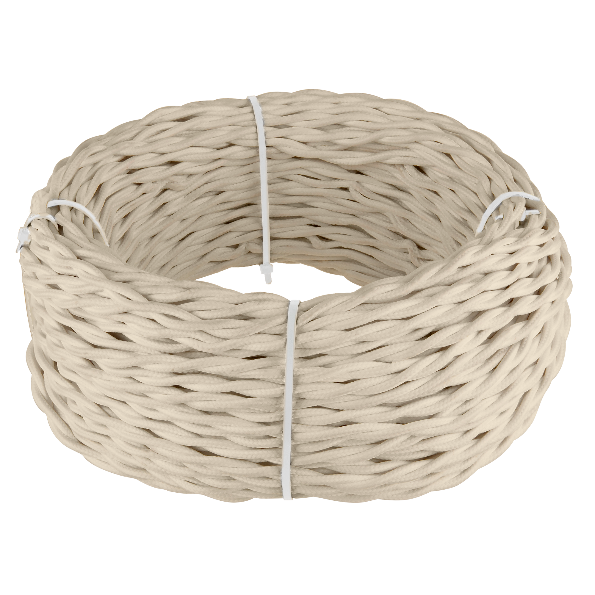 Ретро кабель витой 2х2,5 (песочный) 50 м W6452646