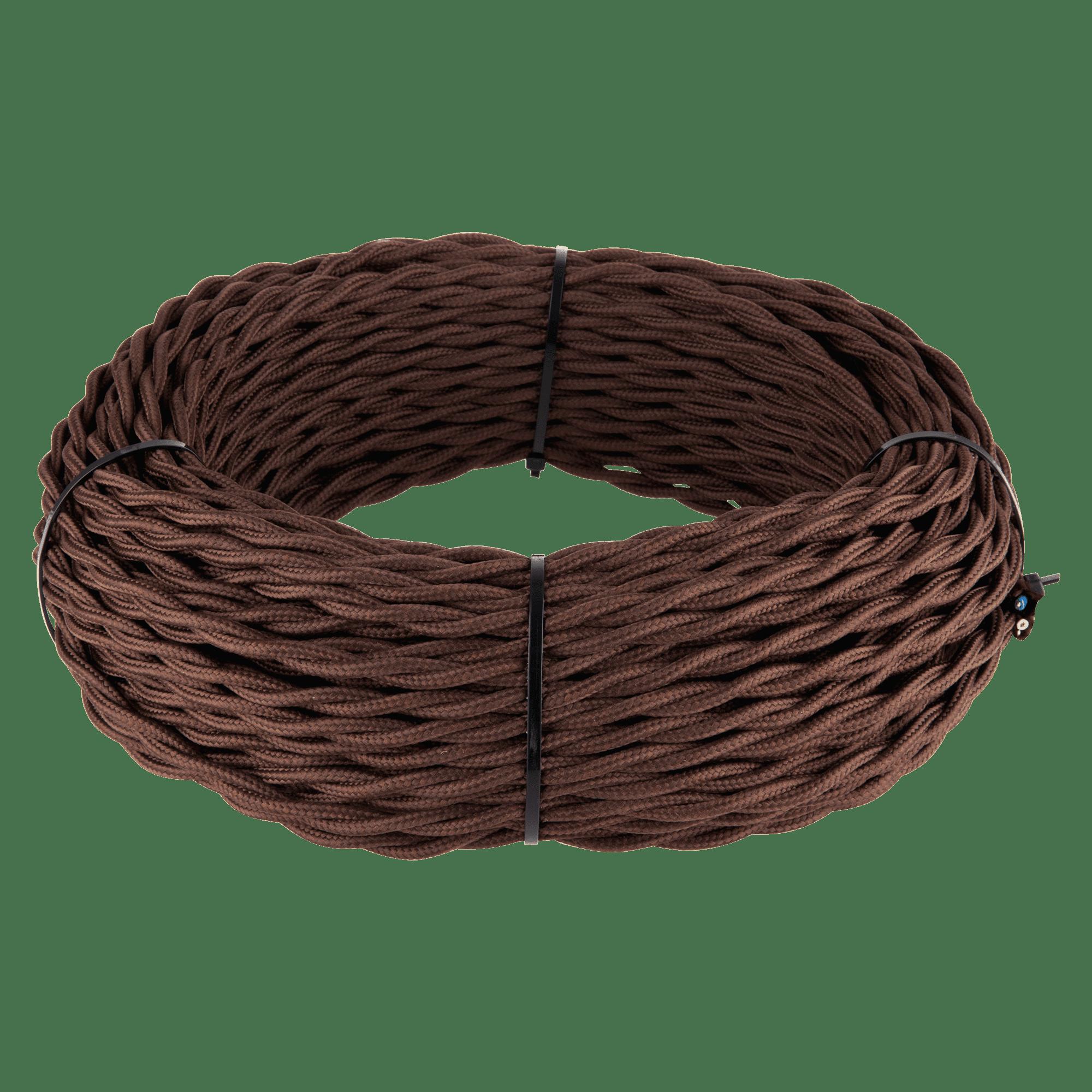 Ретро кабель витой 3х2,5 (коричневый) 50 м W6453614