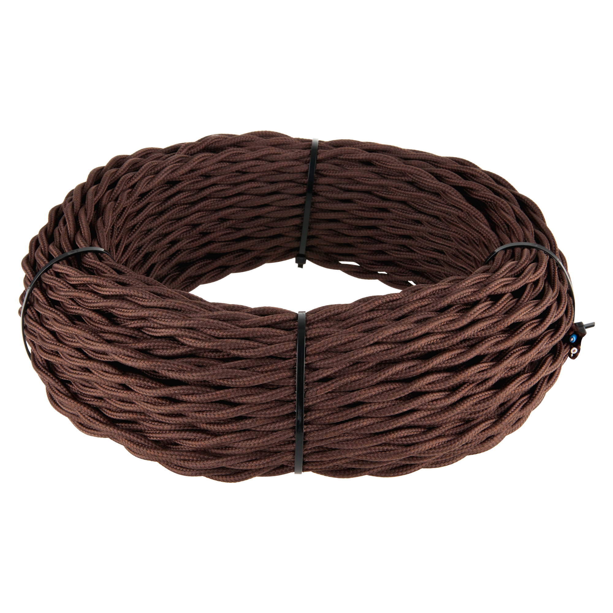 Ретро кабель витой 2х2,5 (коричневый) 50 м W6452614
