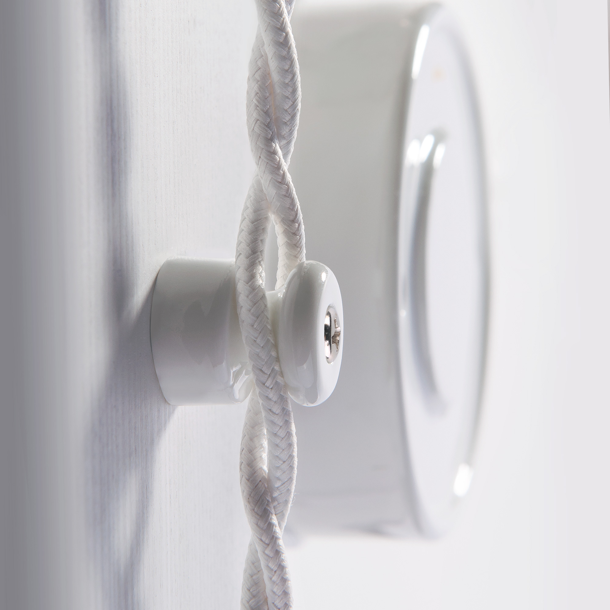 Ретро кабель витой 2х2,5 (белый) 50 м W6452601