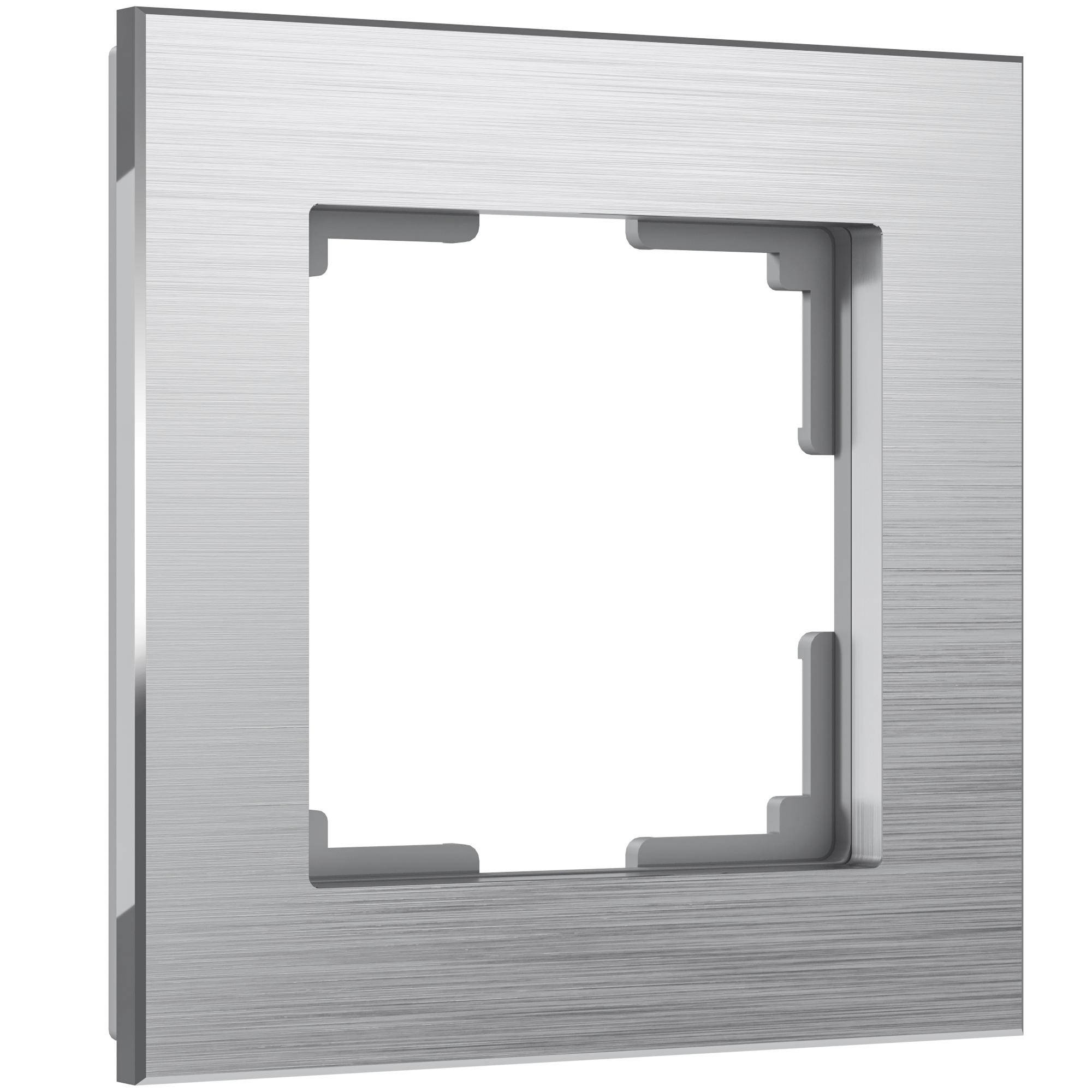 Рамка на 1 пост (алюминий) W0011706