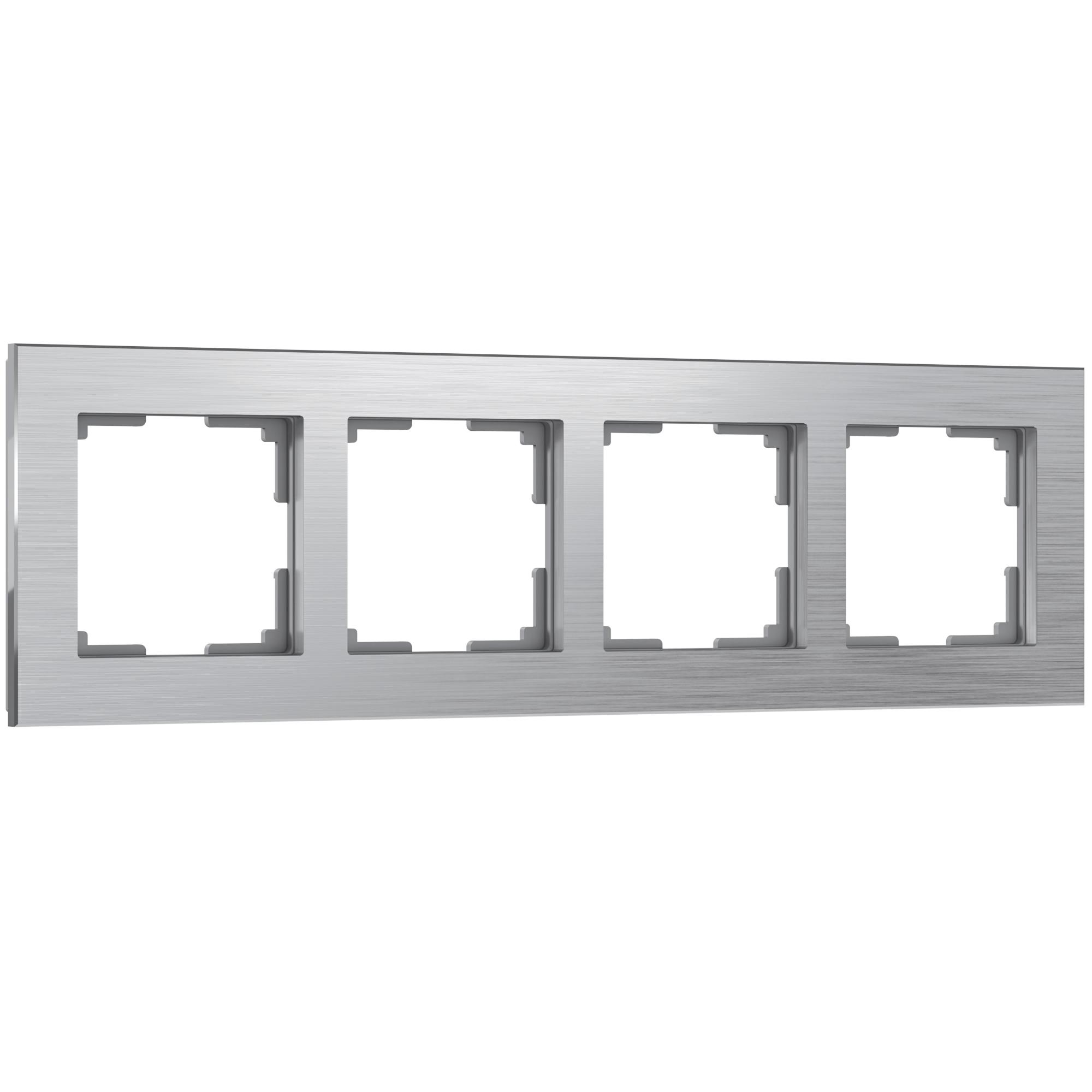 Рамка на 4 поста (алюминий) W0041706