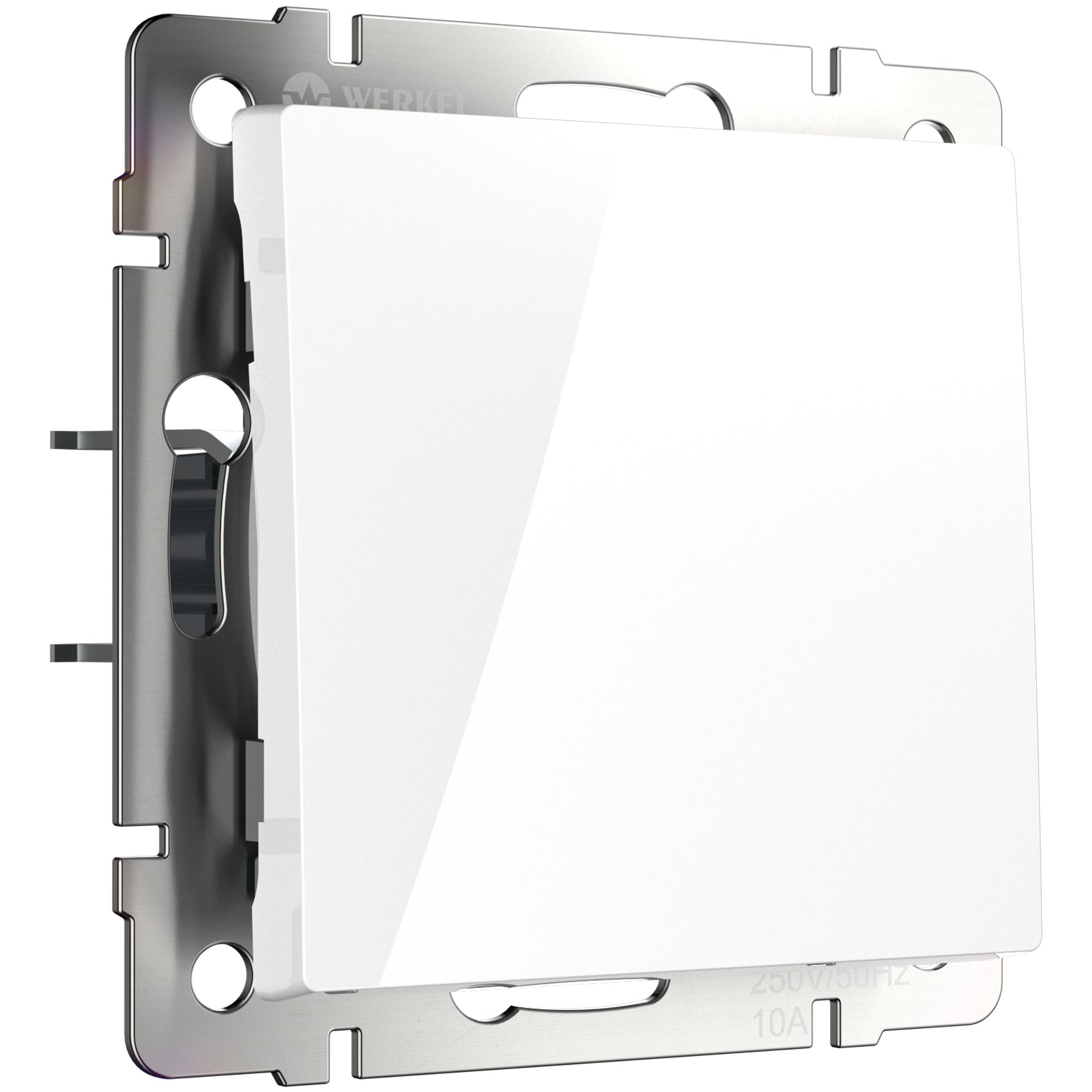 Выключатель одноклавишный (белый) W1110001