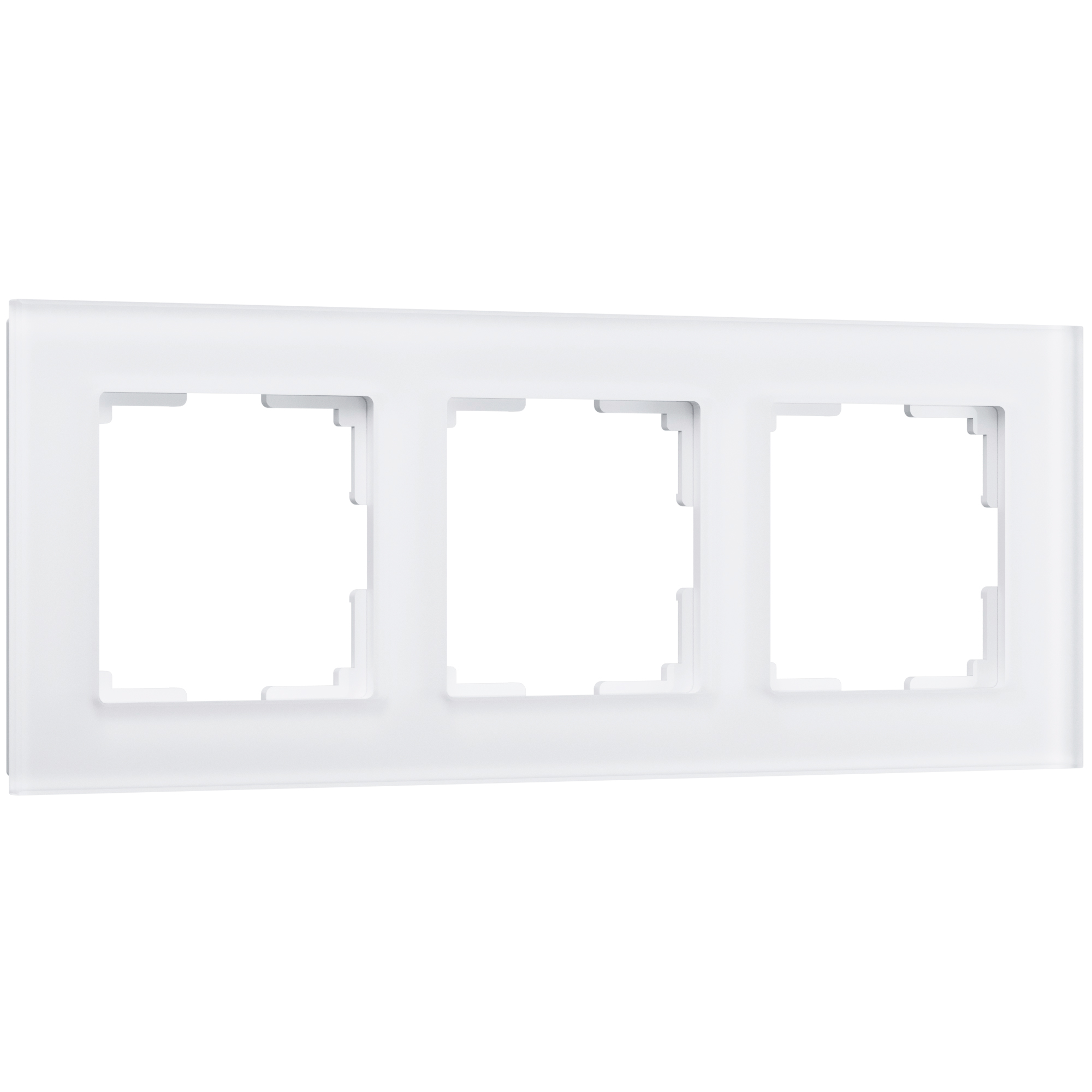 Рамка на 3 поста (белый матовый) W0031105
