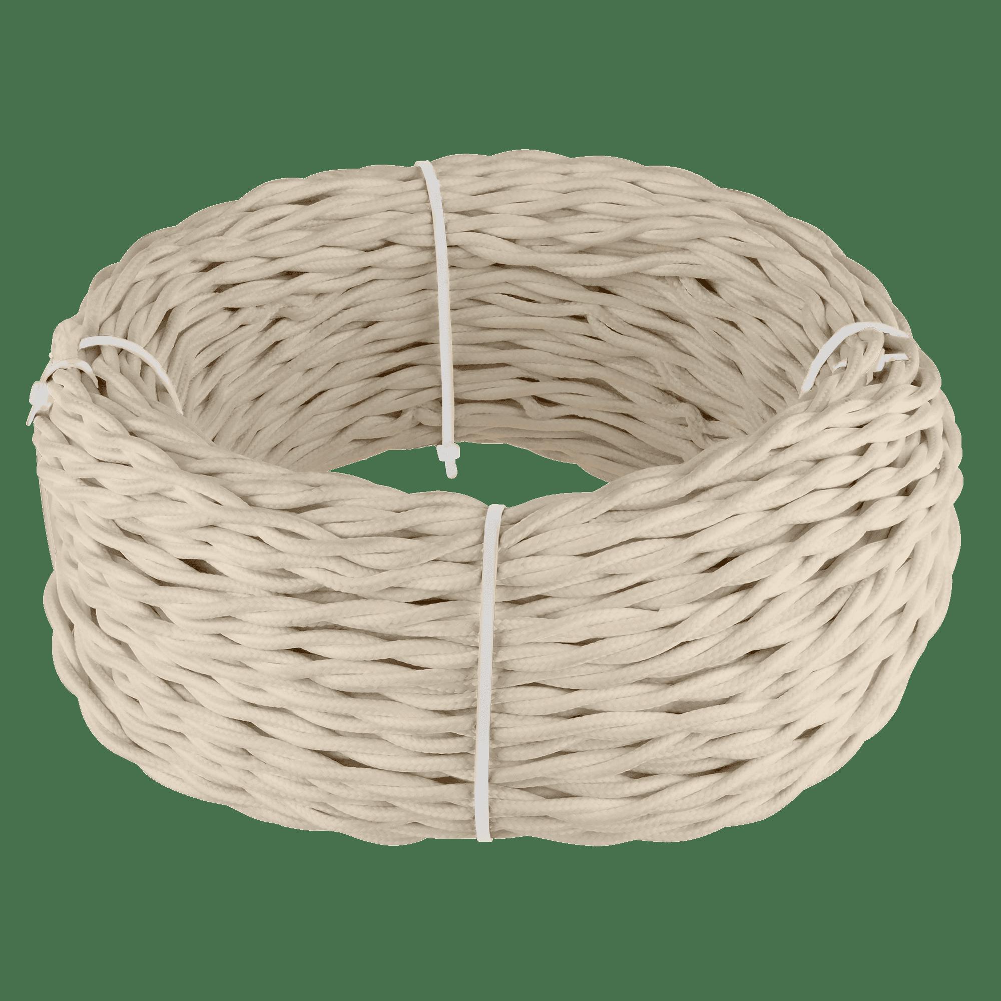 Ретро кабель витой  2х1,5 (песочный) 20 м (под заказ) W6452246
