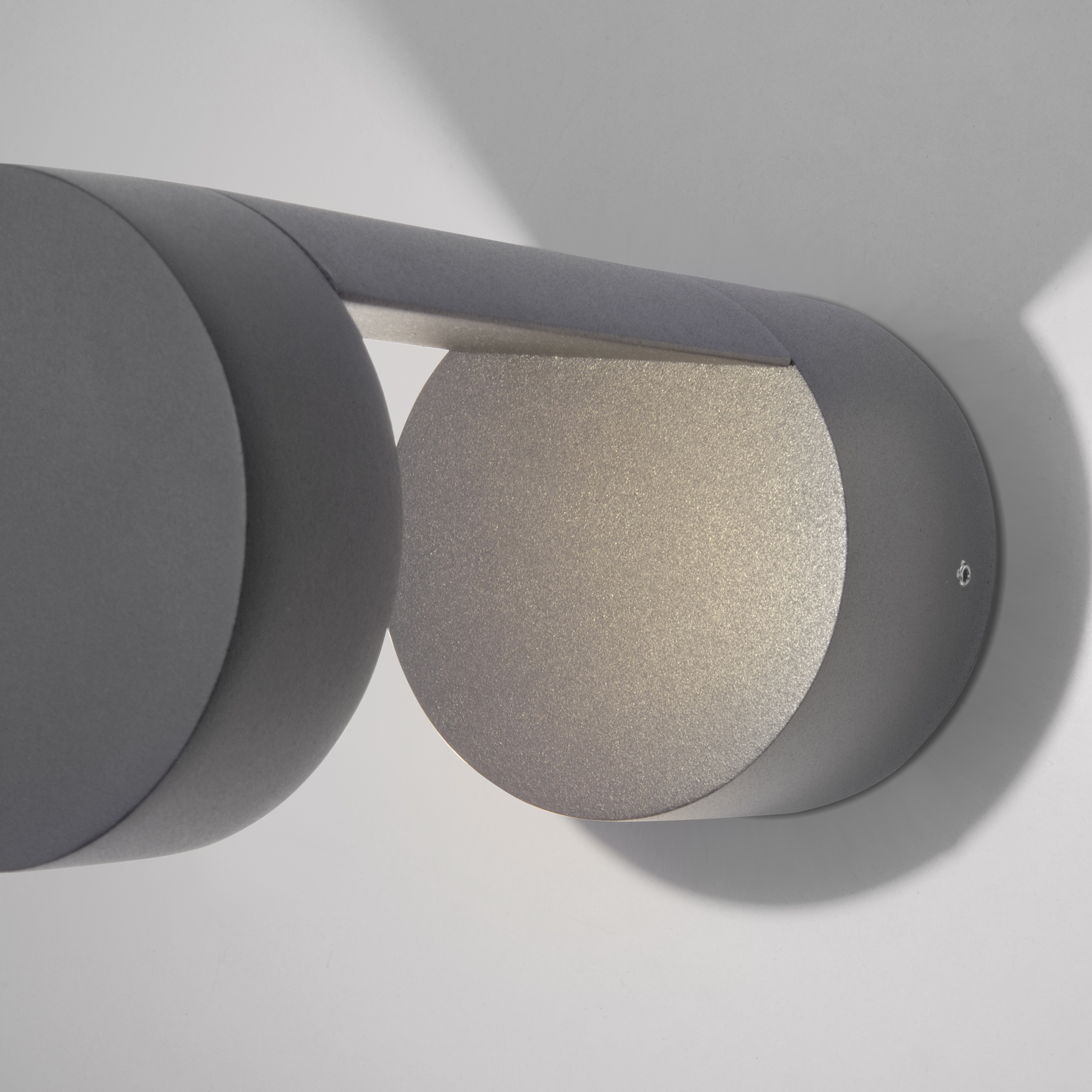 Уличный настенный светодиодный светильник Nimbus IP54 1540 TECHNO LED серый