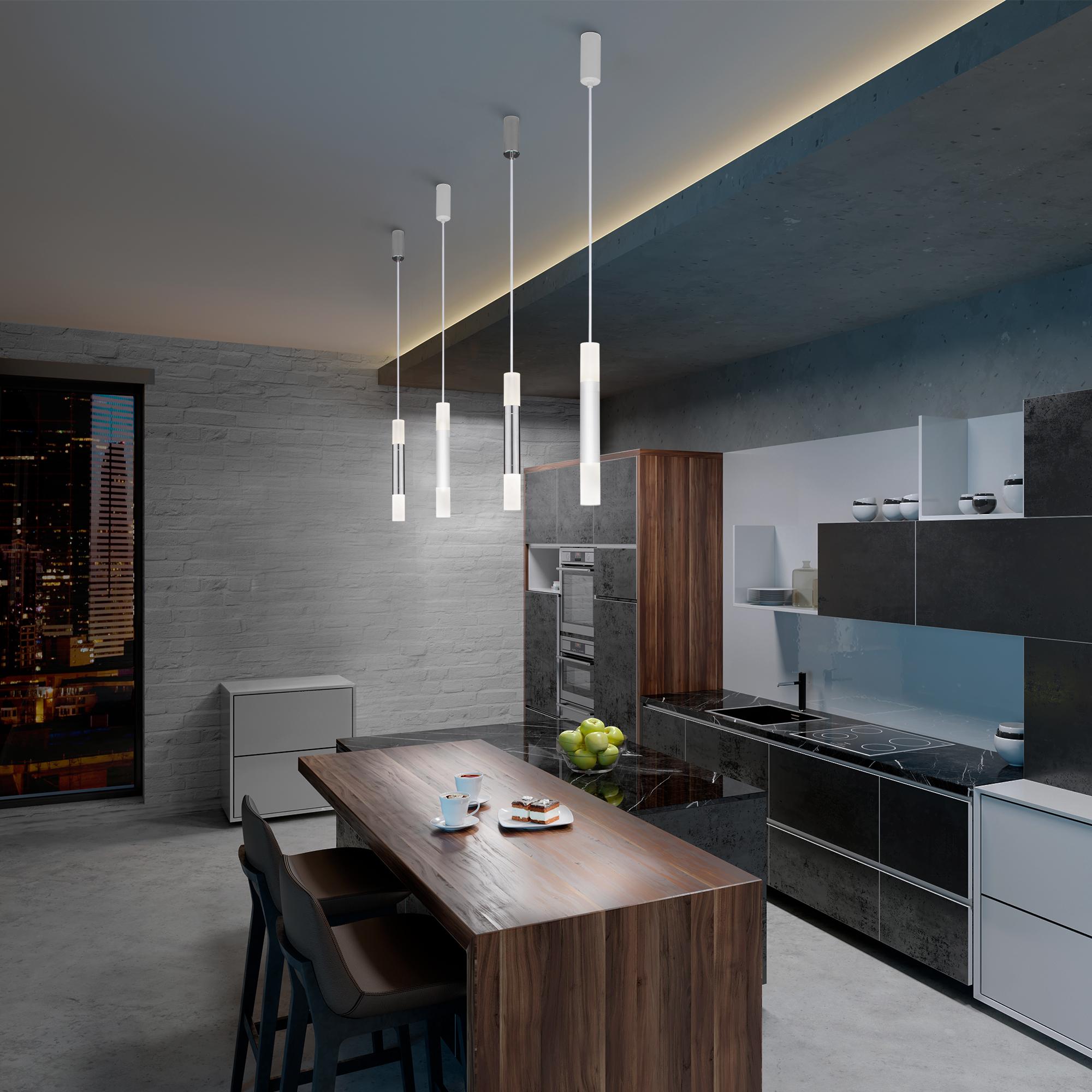Подвесной светодиодный светильник 50210/1 LED белый