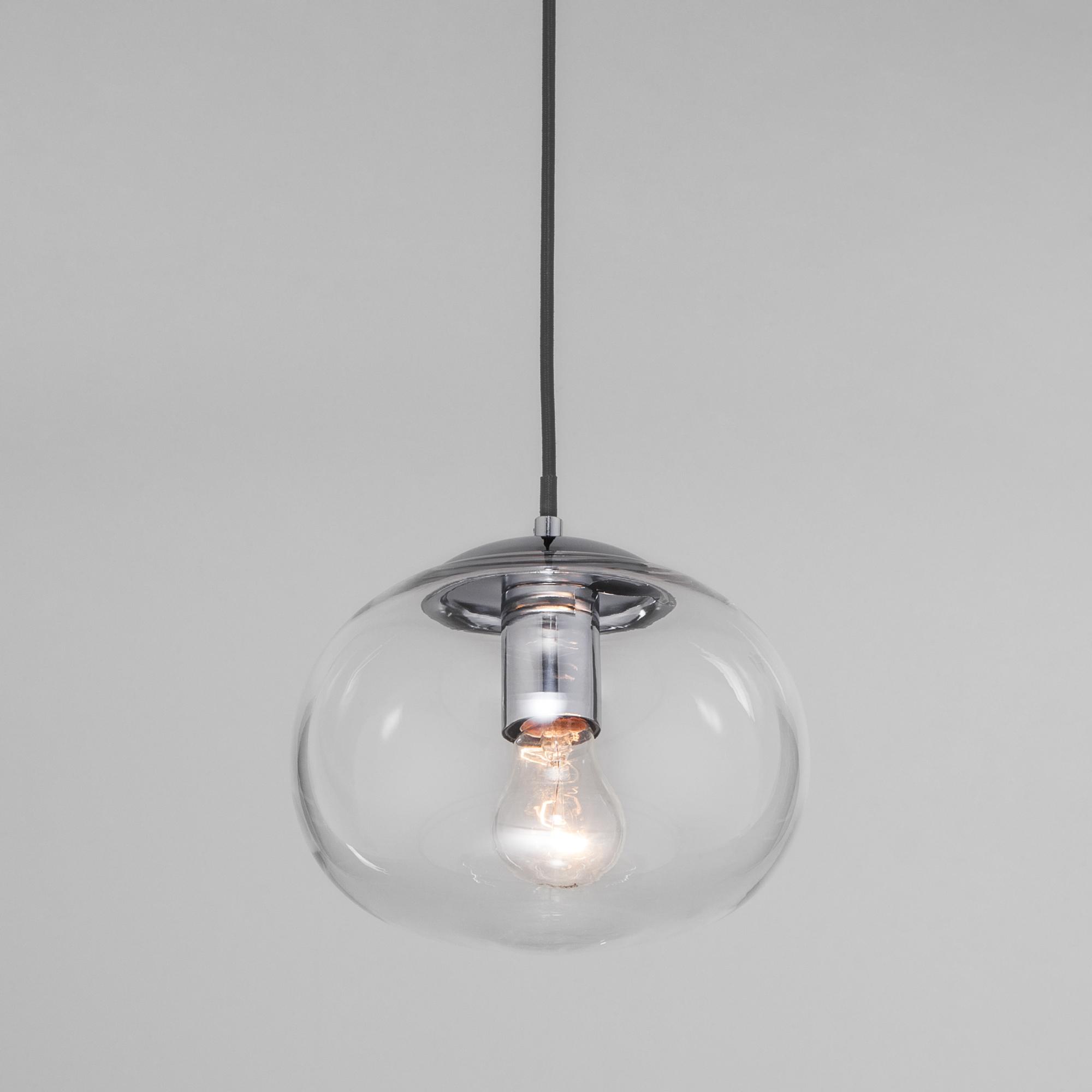 Подвесной светильник со стеклянным плафоном 50212/1 прозрачный