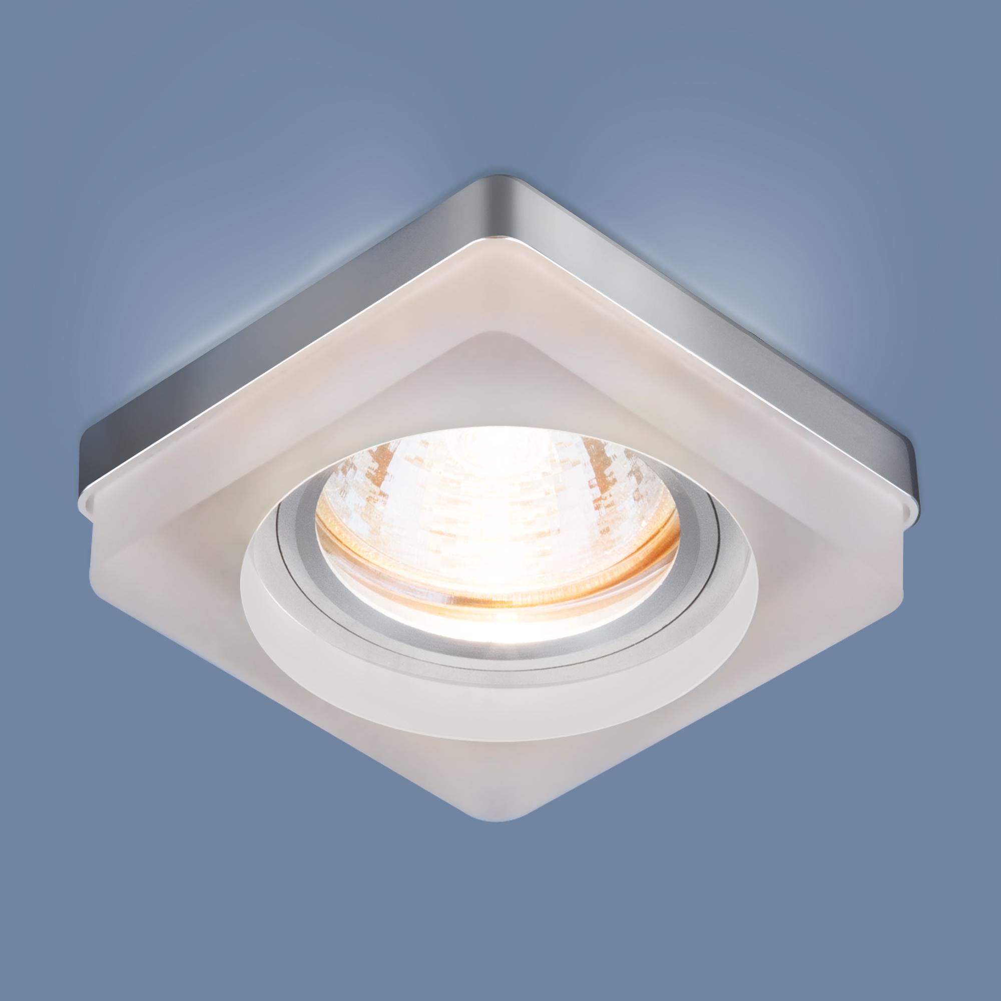 Встраиваемый точечный светильник с LED подсветкой 2207 MR16 MT матовый