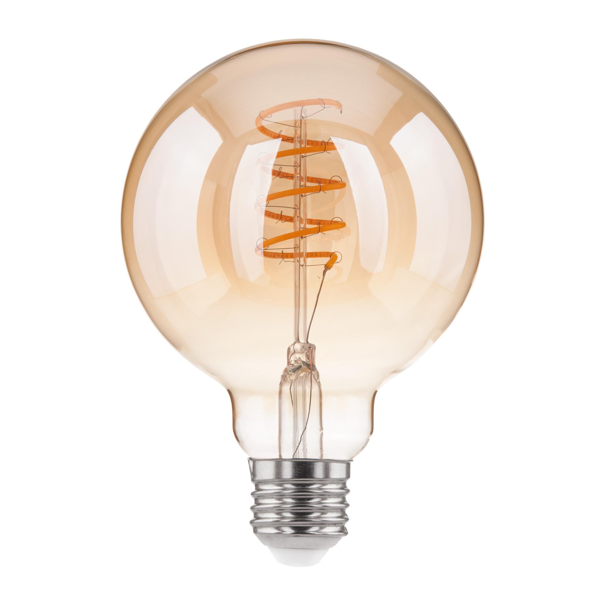 Филаментная светодиодная лампа Dimmable 5W 2700K E27 (G95 тонированный) BLE2747